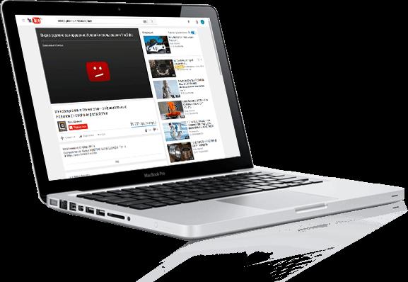 удаление видео из YouTube